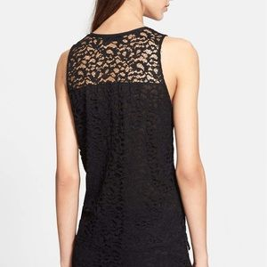 The Kooples zip lace top